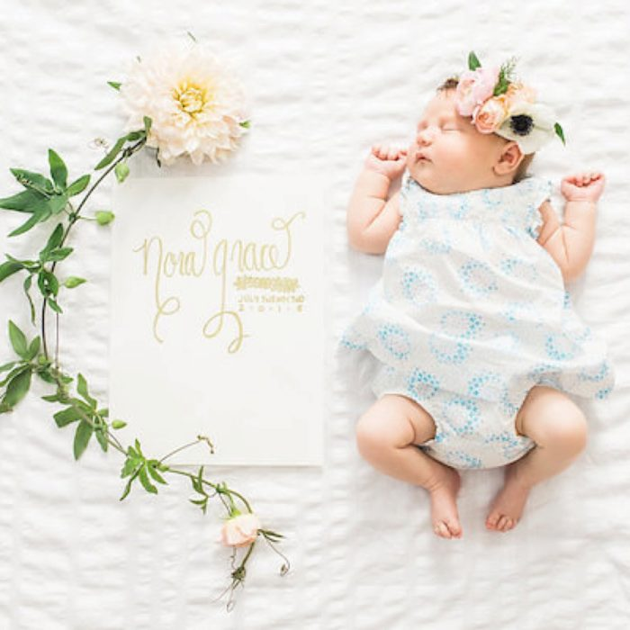 Boston Newborn Photography - Baby Nora