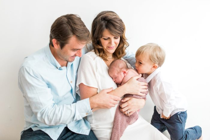 Newburyport Lifestyle Newborn Session at Salt & Grove