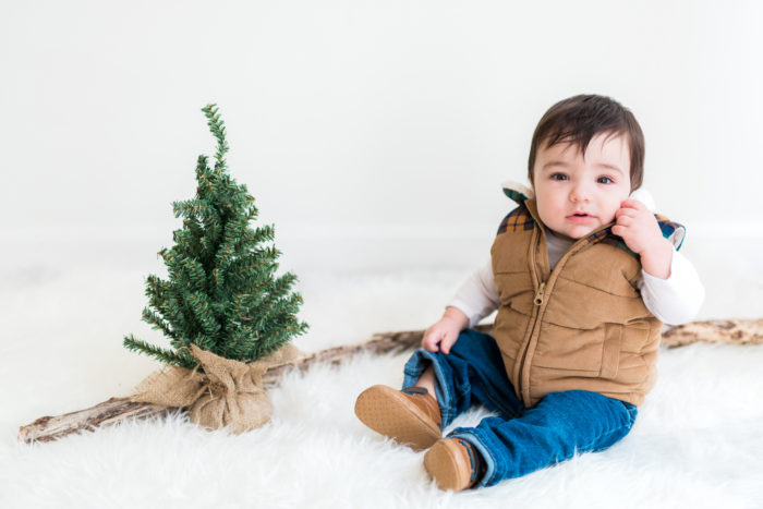 Natural Light Studio Holiday Mini Sessions at Salt & Grove